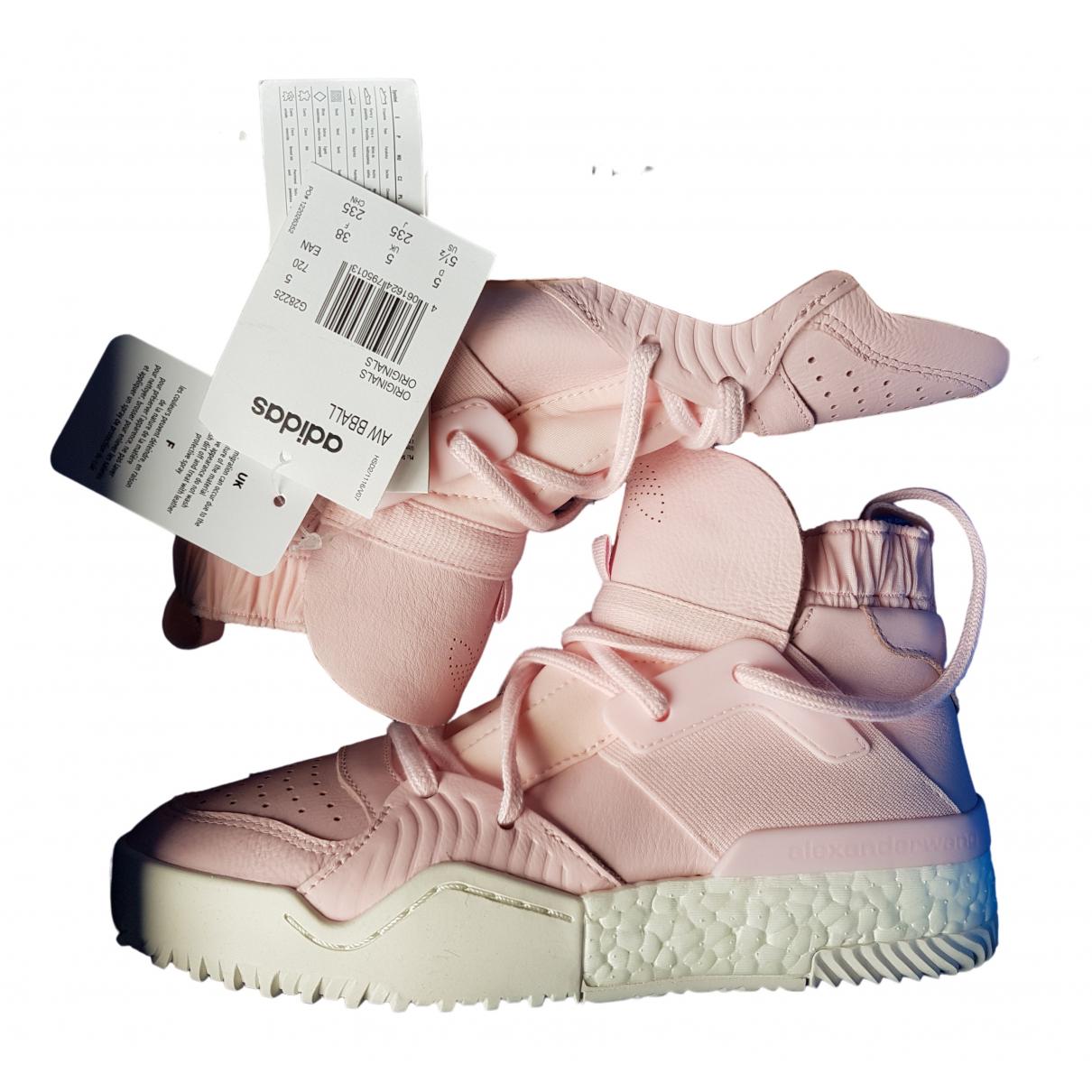 Adidas \N Sneakers in  Rosa Leder