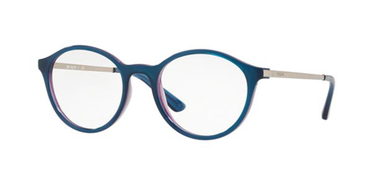 Vogue Eyewear VO5223 2633 Women's Glasses Blue Size 50 - Free Lenses - HSA/FSA Insurance - Blue Light Block Available