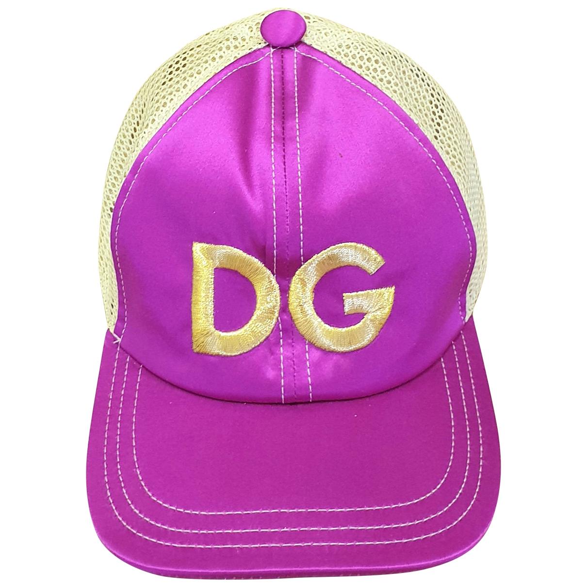 Dolce & Gabbana - Chapeau   pour femme en toile - violet