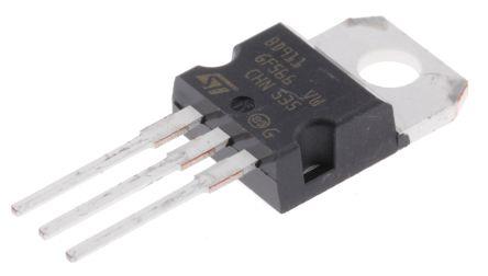 STMicroelectronics BD911 NPN Transistor, 15 A, 100 V, 3-Pin TO-220
