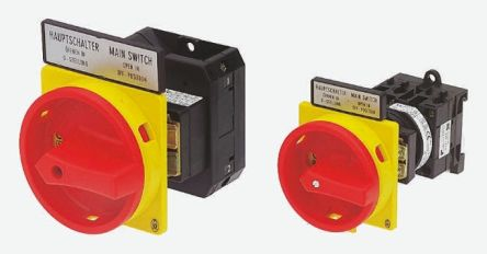 Eaton 3 Pole Panel Mount Non Fused Isolator Switch - 160 A Maximum Current, 55 kW Power Rating, IP65