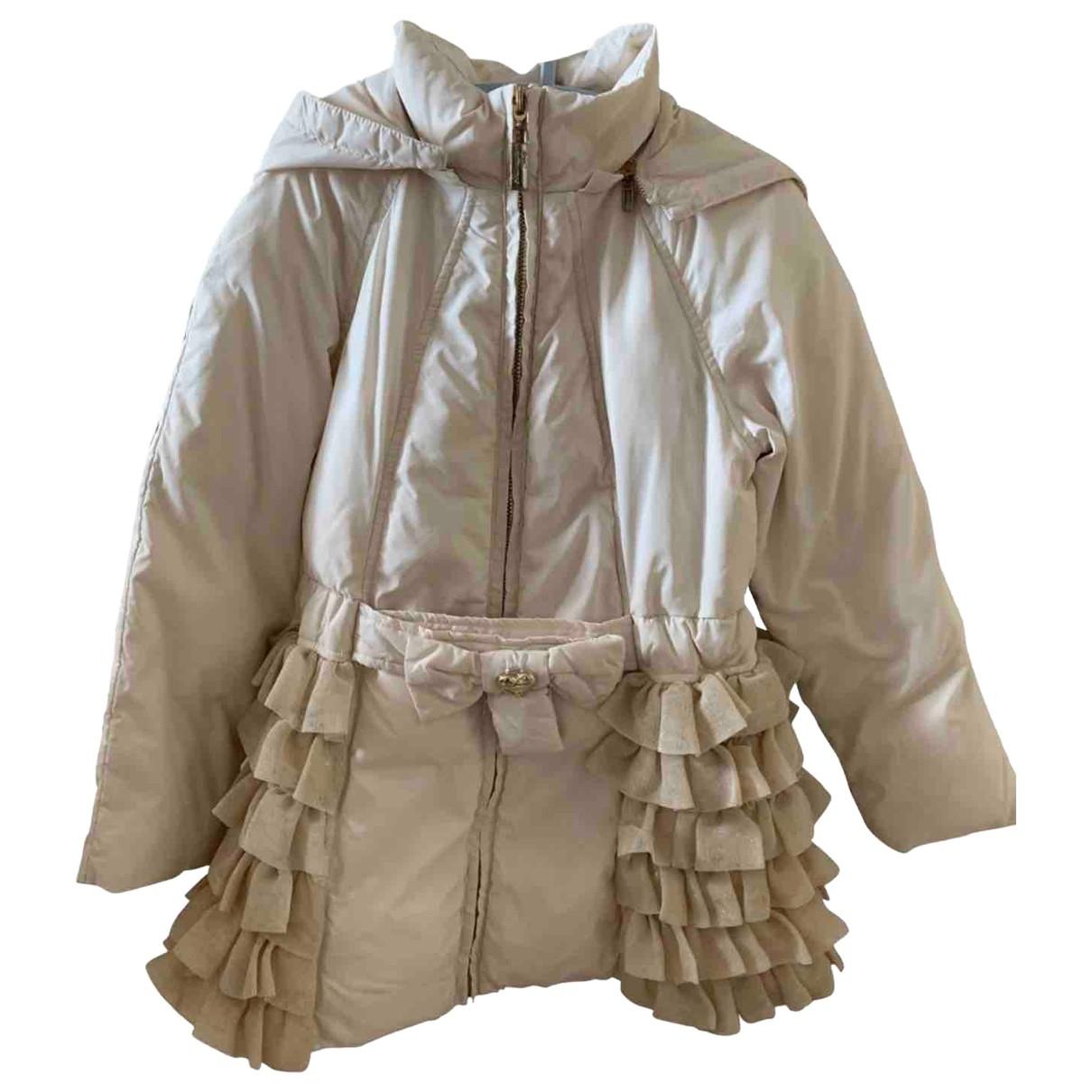 Blumarine - Blousons.Manteaux   pour enfant - beige
