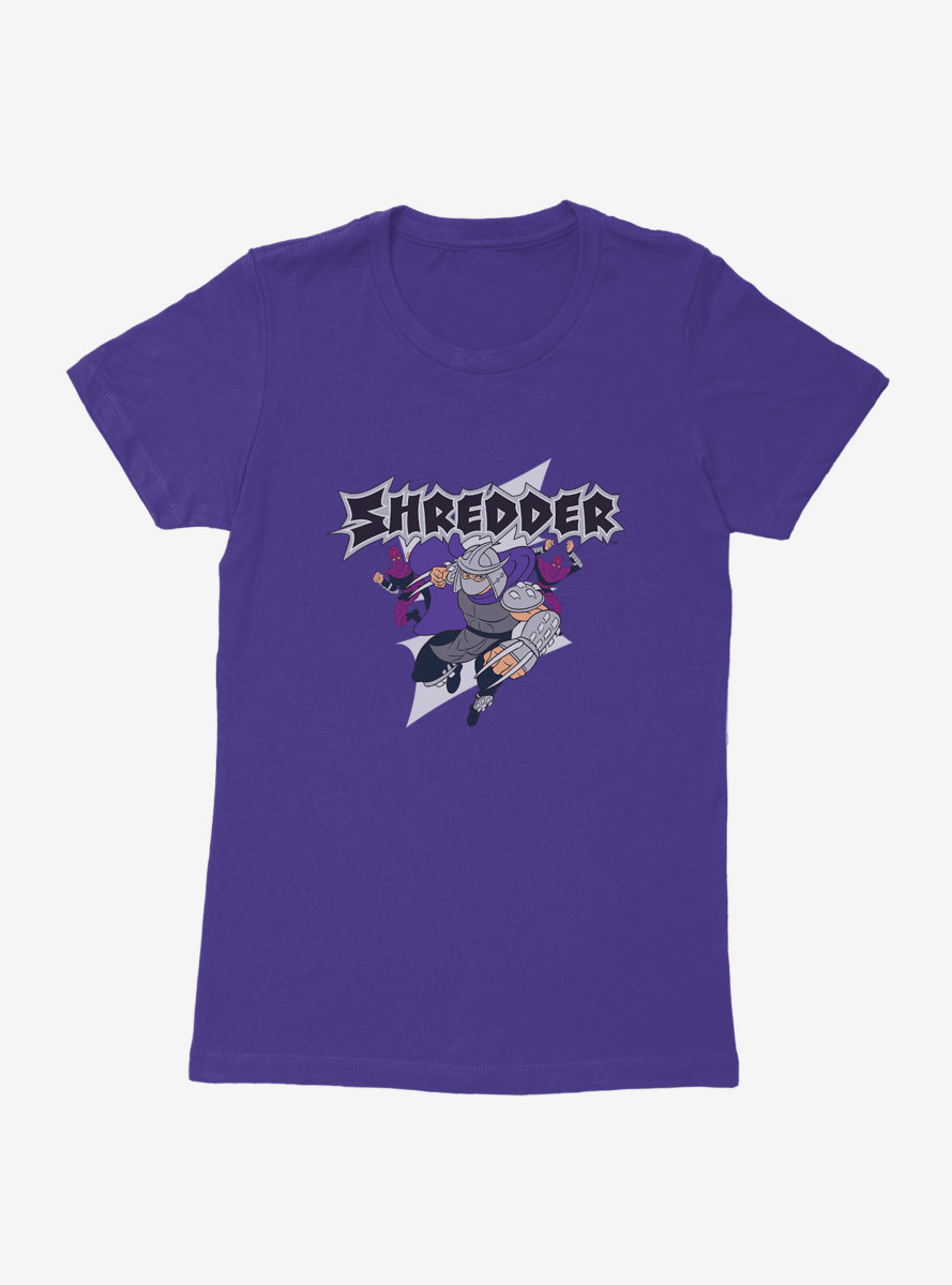 Teenage Mutant Ninja Turtles Beware Shredder Womens T-Shirt