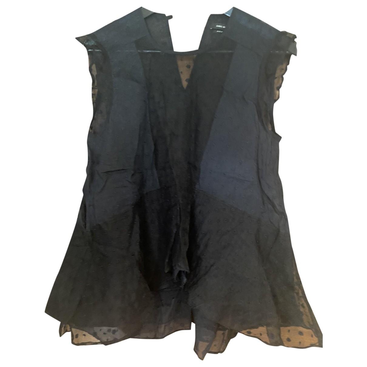 Isabel Marant - Top   pour femme en soie - noir