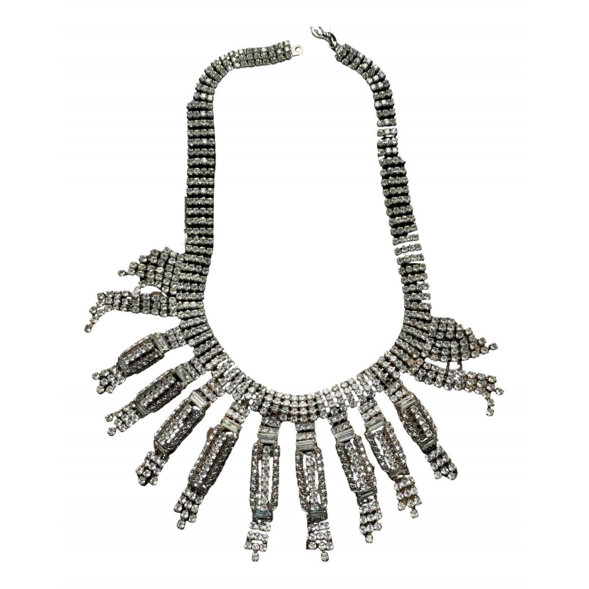 - Collier Art Deco pour femme en cristal