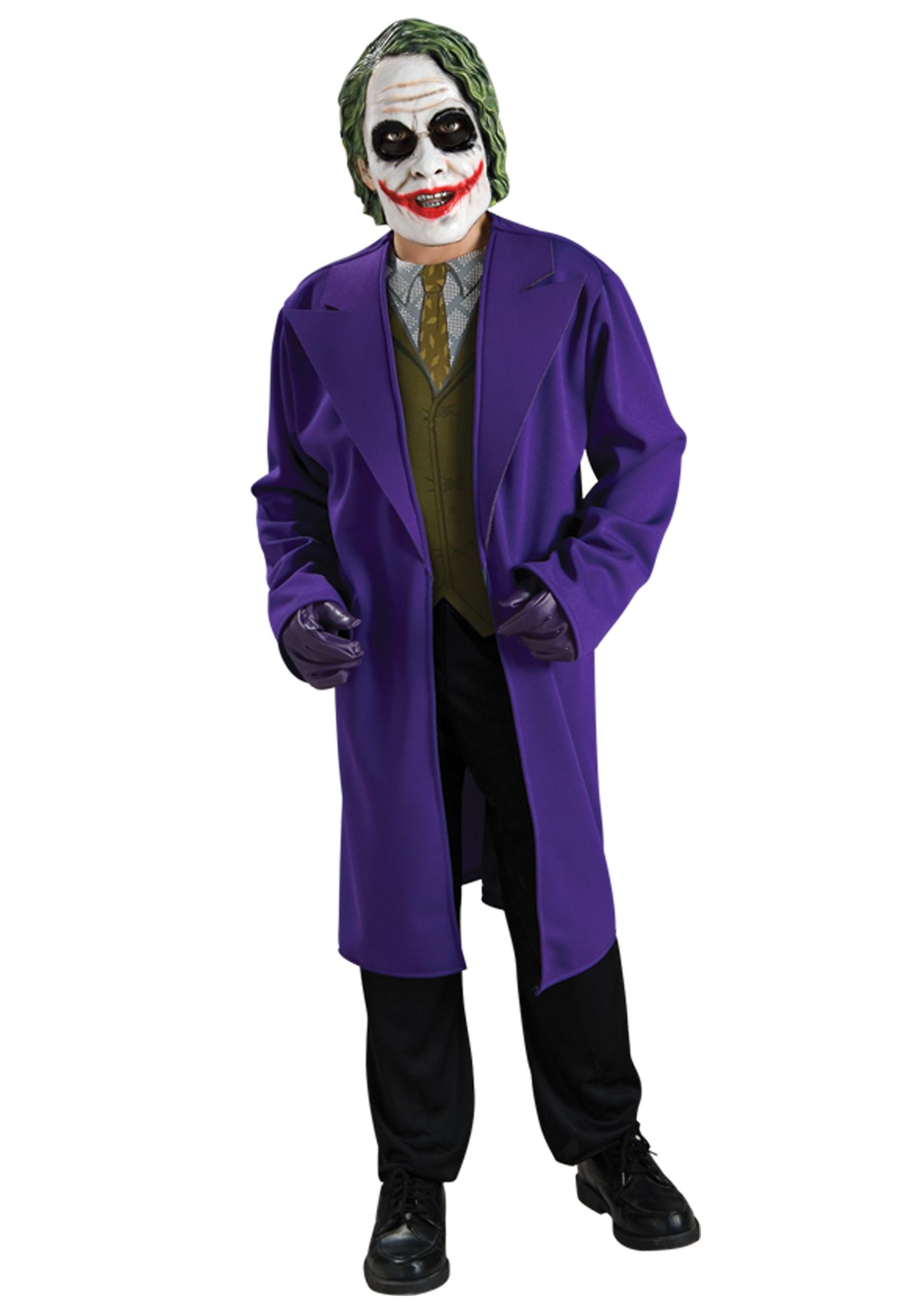 Tween Joker Costume | Joker Halloween Costume for Tweens