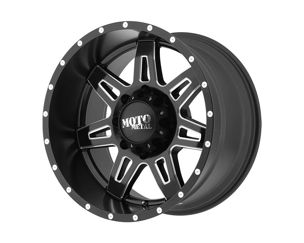 Moto Metal MO97589068918 MO975 Wheel 18x9 6x6x139.7 +18mm Satin Black Milled