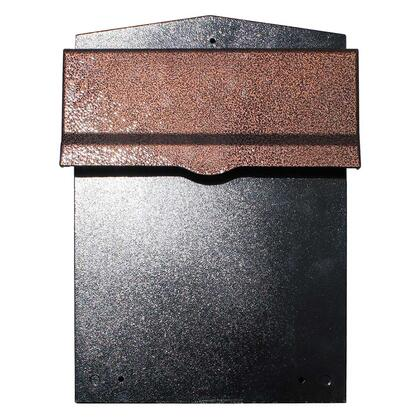 LIB-AC-LM6-810 Liberty Rear Access Collection Box with Antique Copper Letter Plate and 8