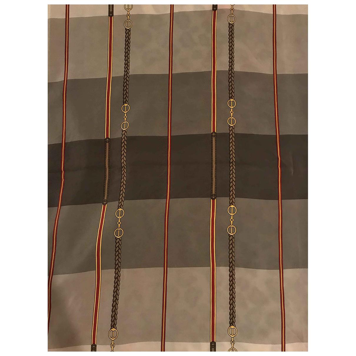 Celine N Grey Silk scarf for Women N