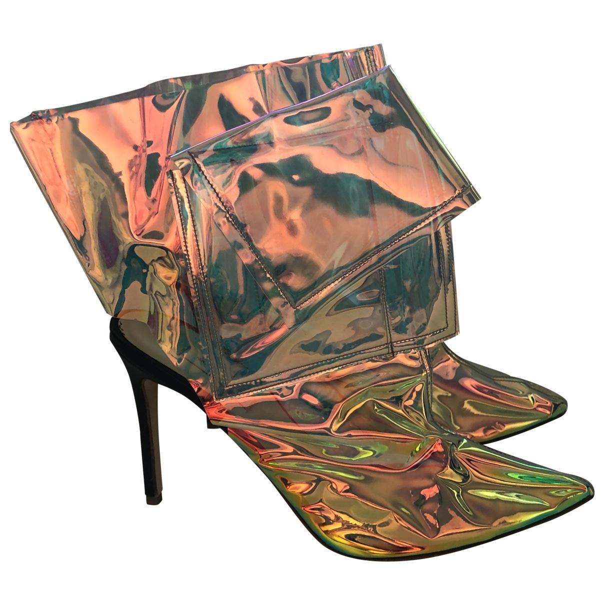Natasha Zinko - Boots   pour femme - rose