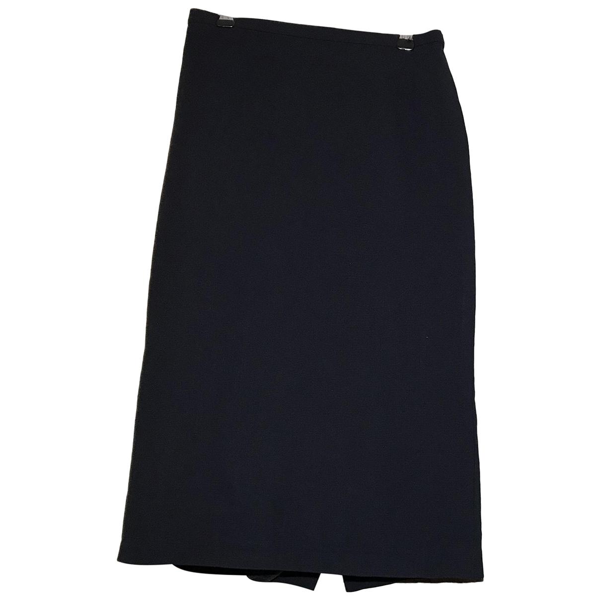 Max Mara \N Navy Wool skirt for Women 36 FR