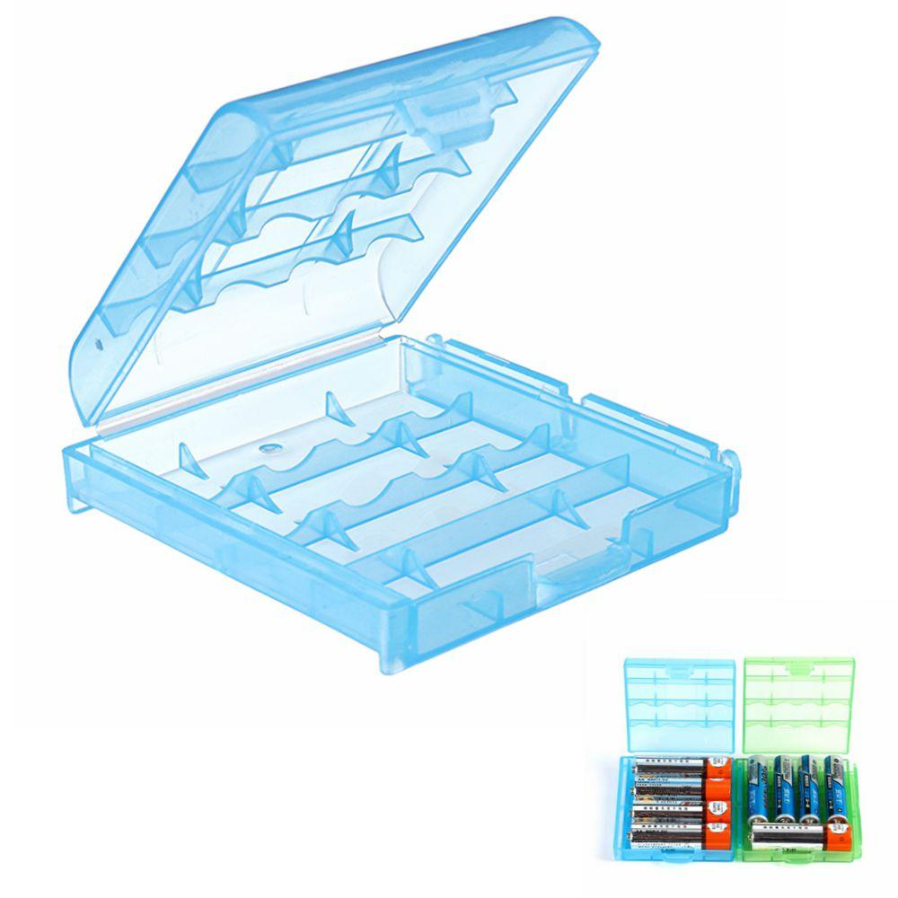 Plastic Battery Case Batteries Cover Spare Carrier Holder Storage Box Container for AAAAA Battery
