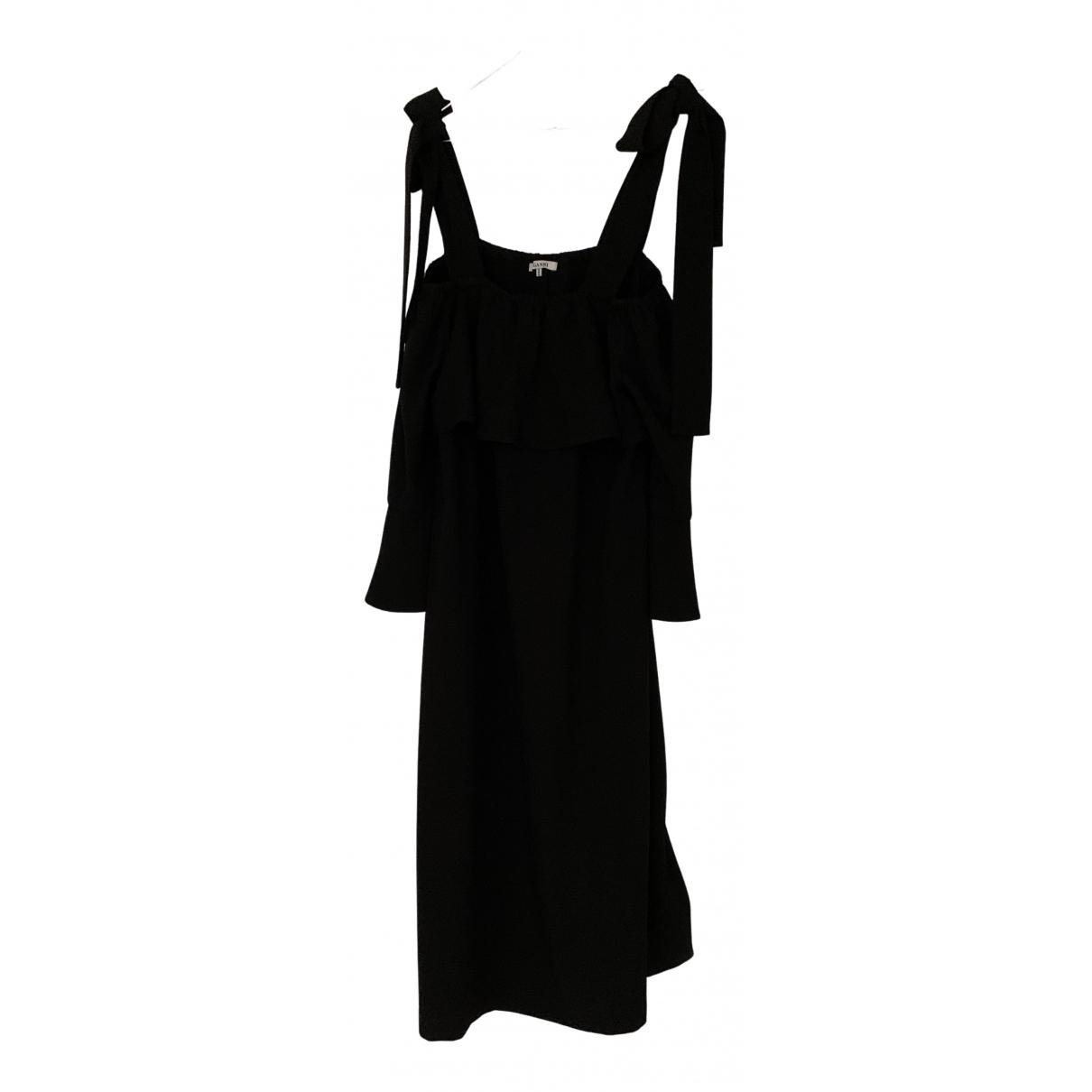 Ganni N Black dress for Women 36 FR