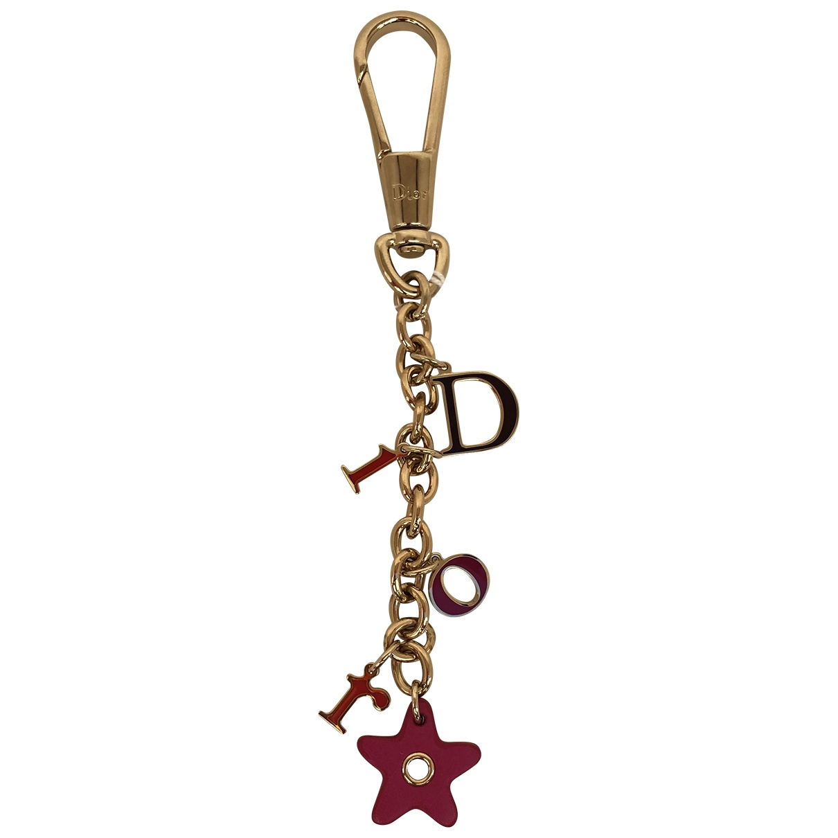 Dior \N Gold Metal Bag charms for Women \N