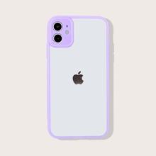 Contrast Trim iPhone Case