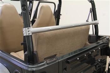 Rockhard 4x4 RH-1004-E Unpainted Rear Seat Harness Bar Jeep CJ7 79-86