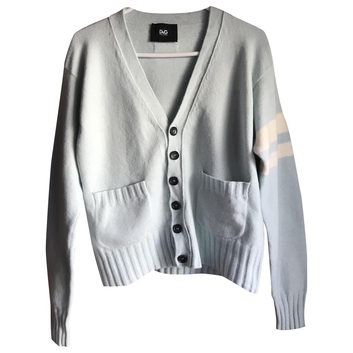 D&g \N Blue Wool Knitwear & Sweatshirts for Men 44 IT
