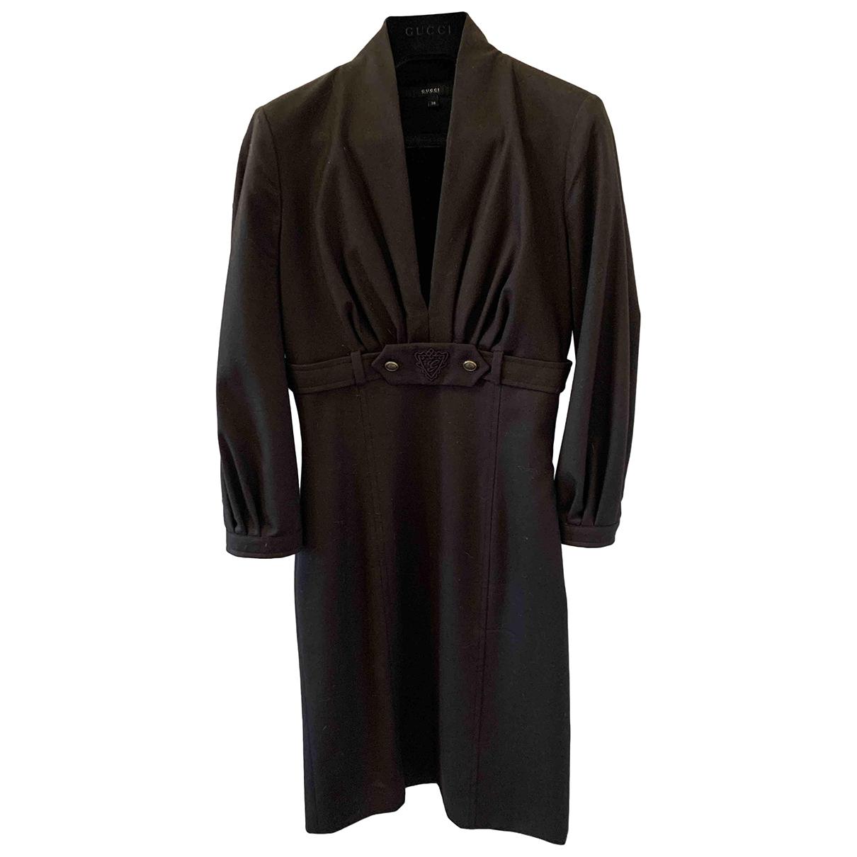 Gucci \N Brown Wool dress for Women 38 IT