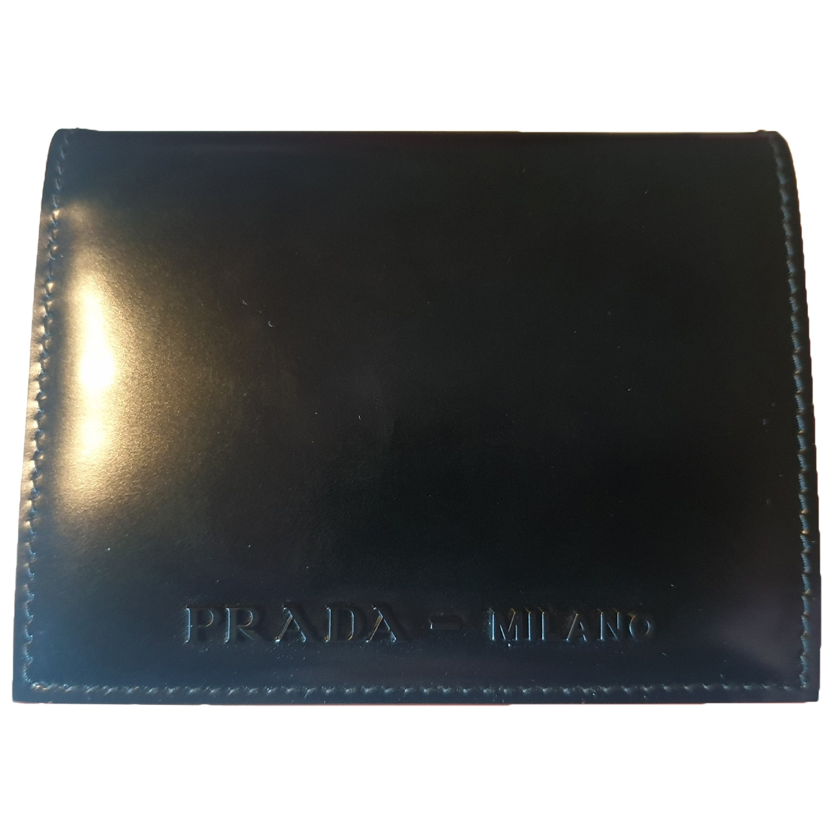 Prada \N Black Leather wallet for Women \N
