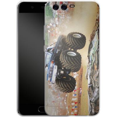 Huawei P10 Silikon Handyhuelle - Old School Jump von Bigfoot 4x4