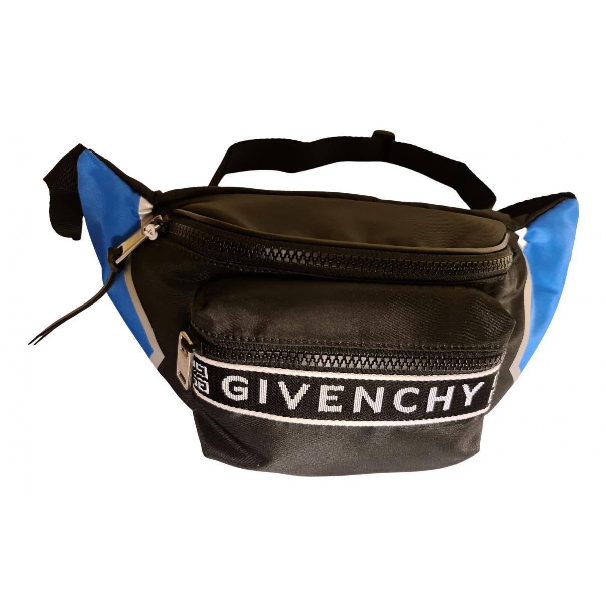 Givenchy - Petite maroquinerie   pour homme en toile - noir