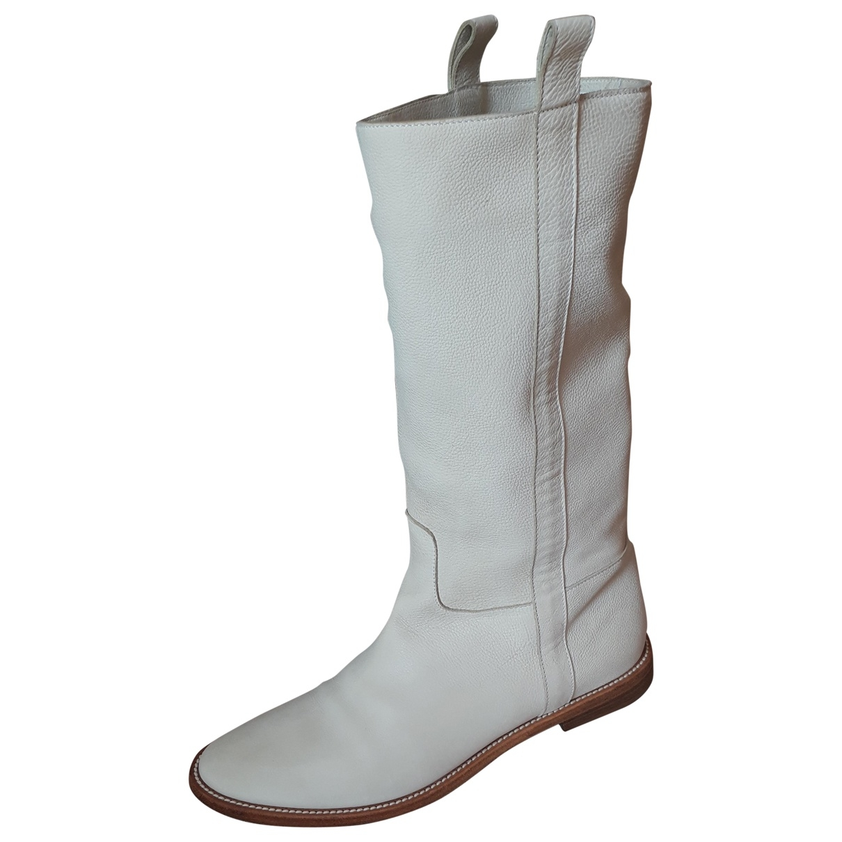 Sartore \N Beige Pony-style calfskin Boots for Women 37 EU