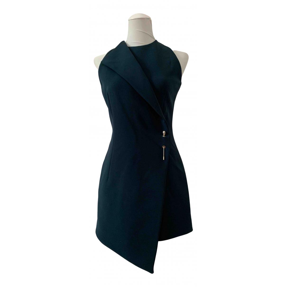 Balenciaga \N Kleid in  Gruen Polyester