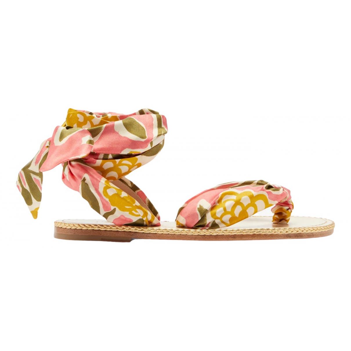 Sandalias de Lona Christian Louboutin