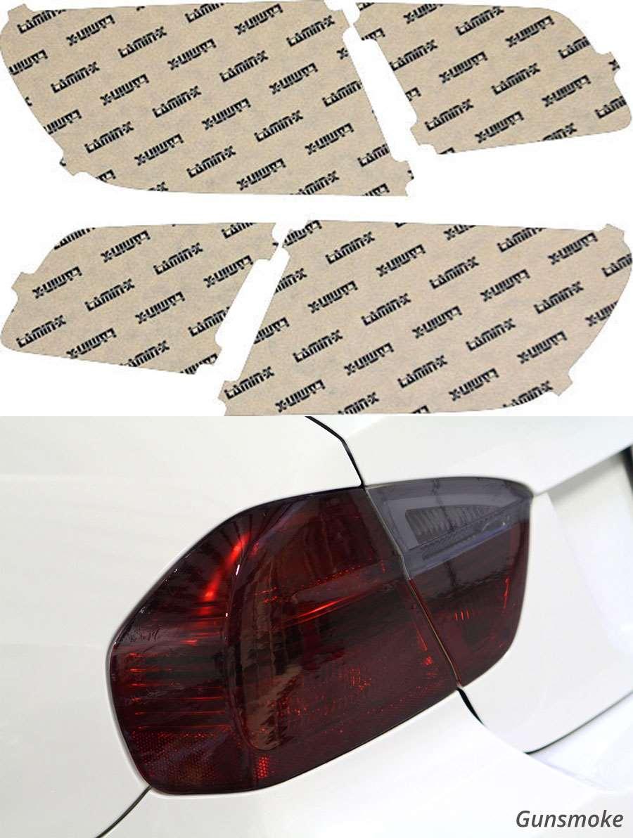 BMW M5 12-16 Gunsmoke Tail Light Covers Lamin-X B243G