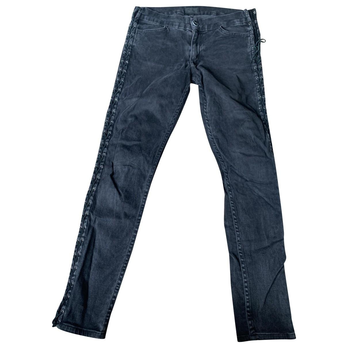 Hudson \N Black Cotton - elasthane Jeans for Women 28 US