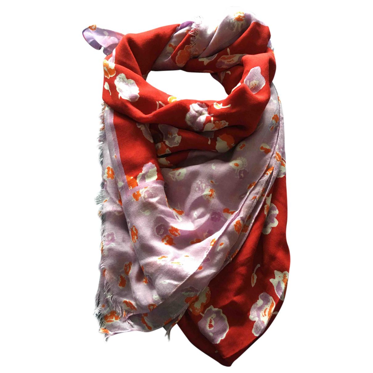 Coach N Burgundy scarf for Women N