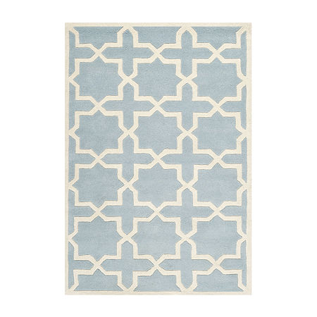 Safavieh Celestine Geometric Hand Tufted Wool Rug, One Size , Blue