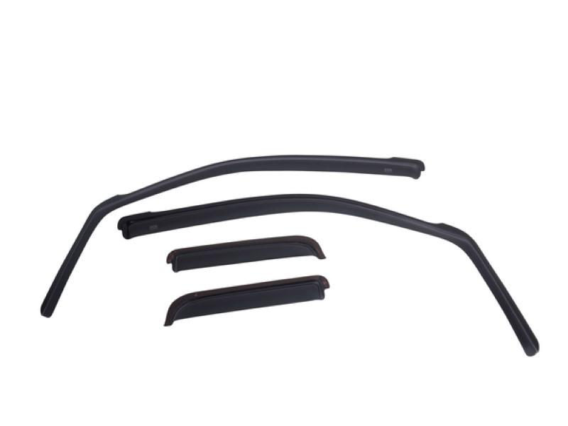 EGR 572961WB Dark Smoke In-Channel Style 4pc Window Visors Set Dodge Ram 1500 Quad Cab 2019-2020