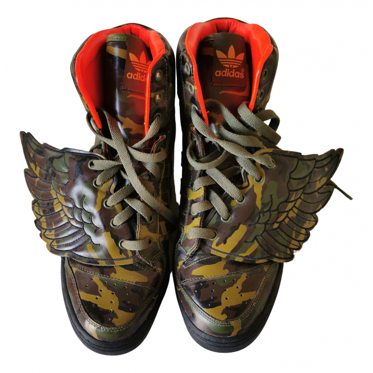 Adidas - Baskets   pour homme en cuir - multicolore