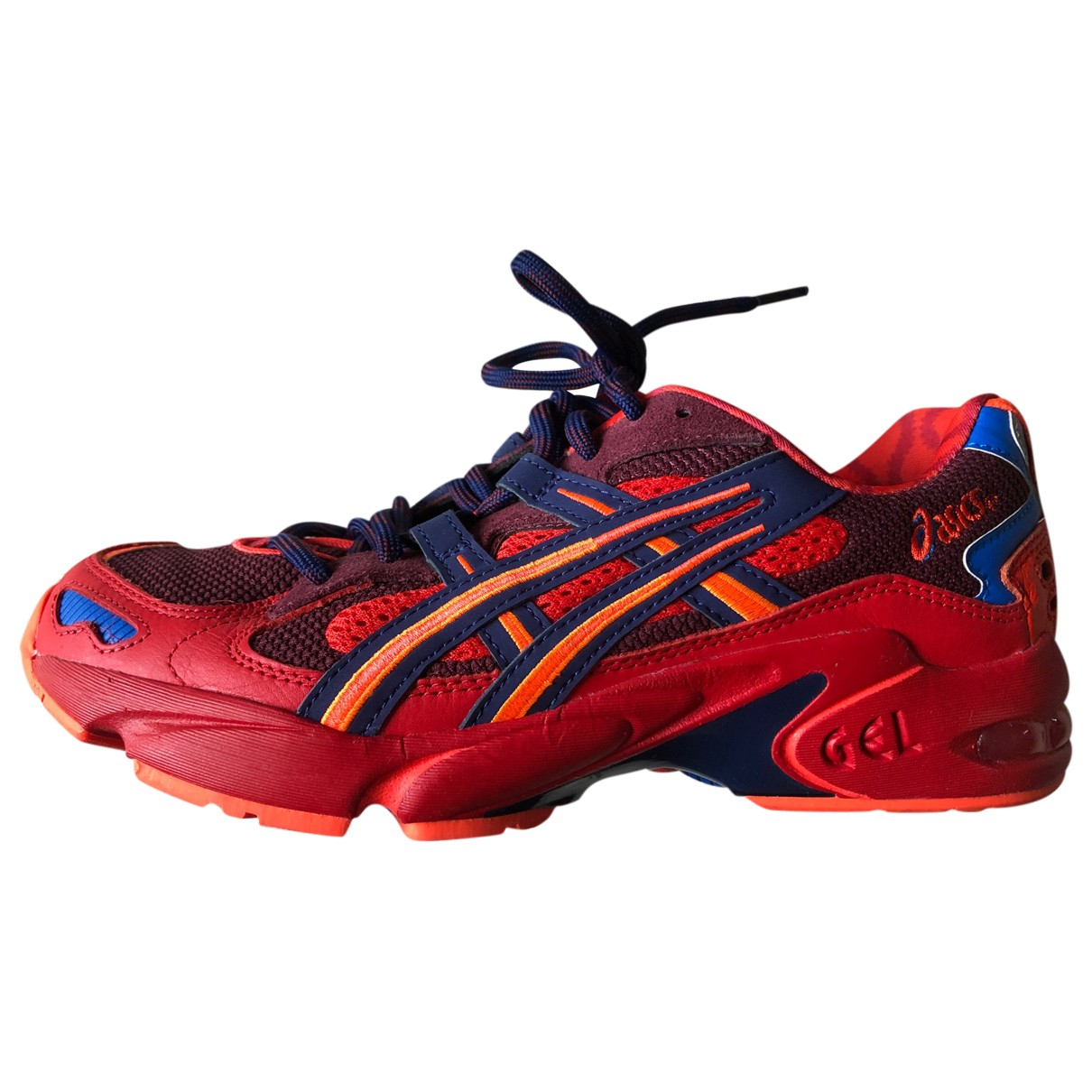 Asics \N Red Leather Trainers for Women 40.5 EU
