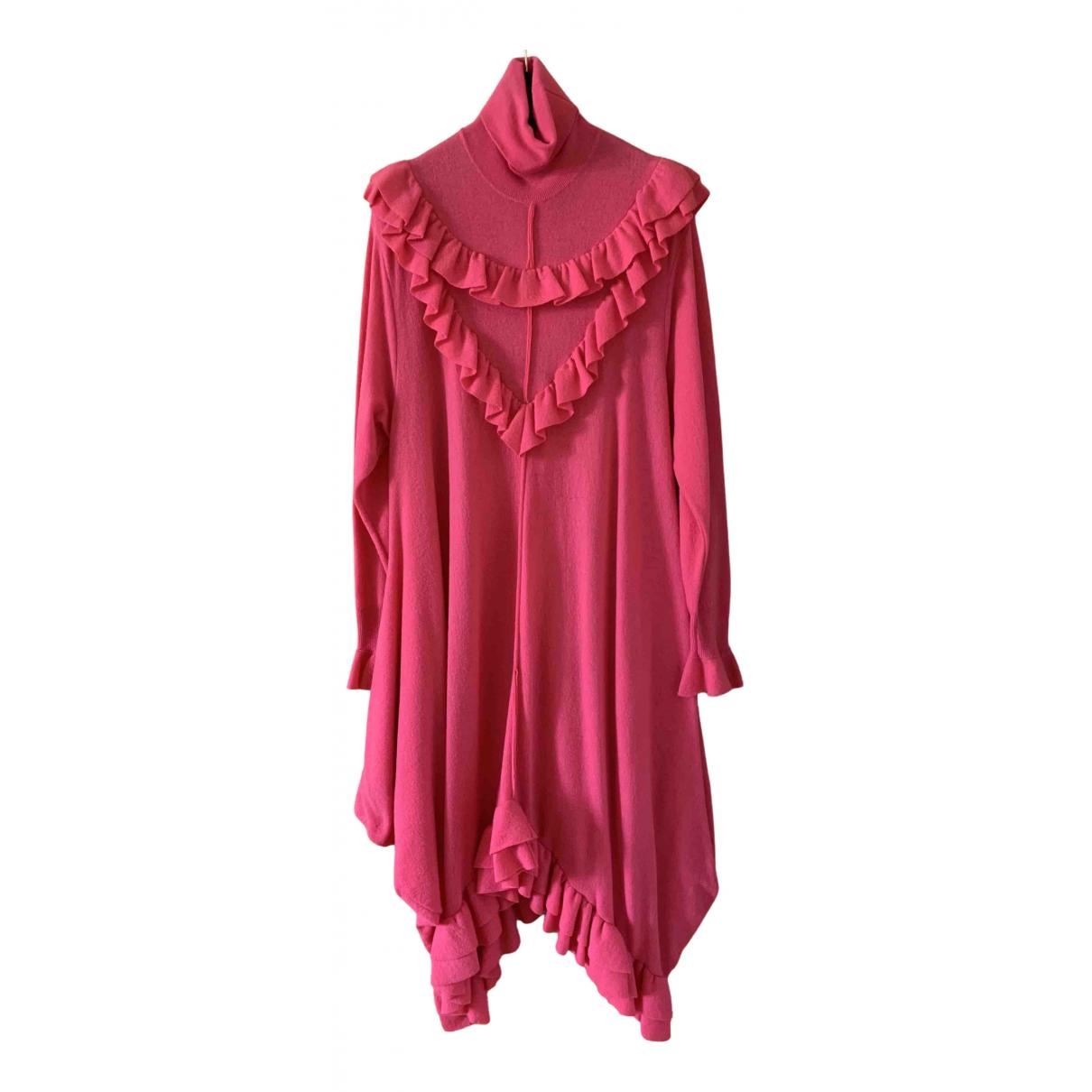 Stella Mccartney - Robe   pour femme en laine - rose