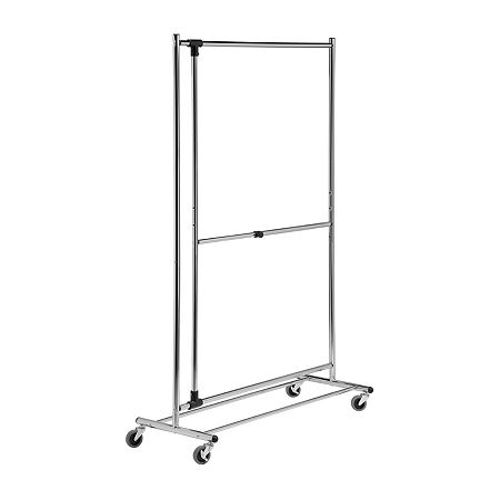 Honey-Can-Do Garment Rack, One Size , Silver