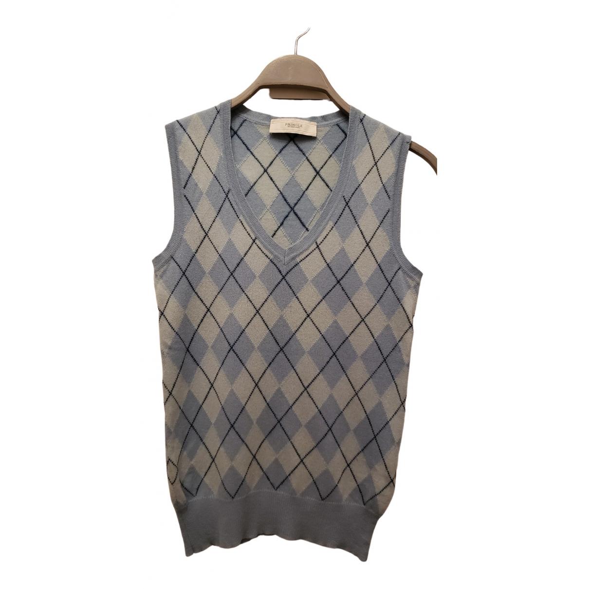 Pringle Of Scotland \N Blue Cashmere Knitwear for Women 8 UK