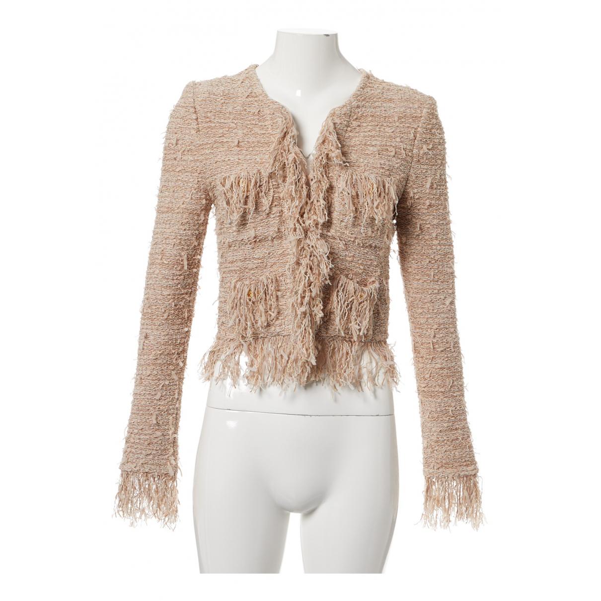 Balmain - Veste   pour femme en tweed - rose