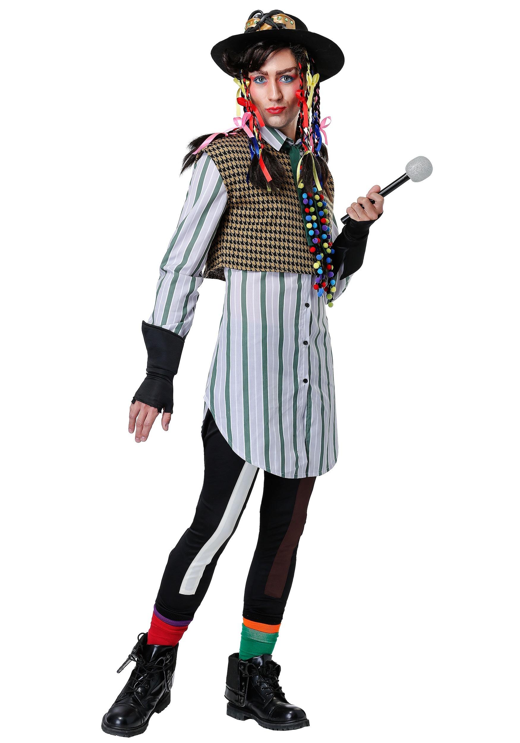 Chameleon Pop Star Costume for Men