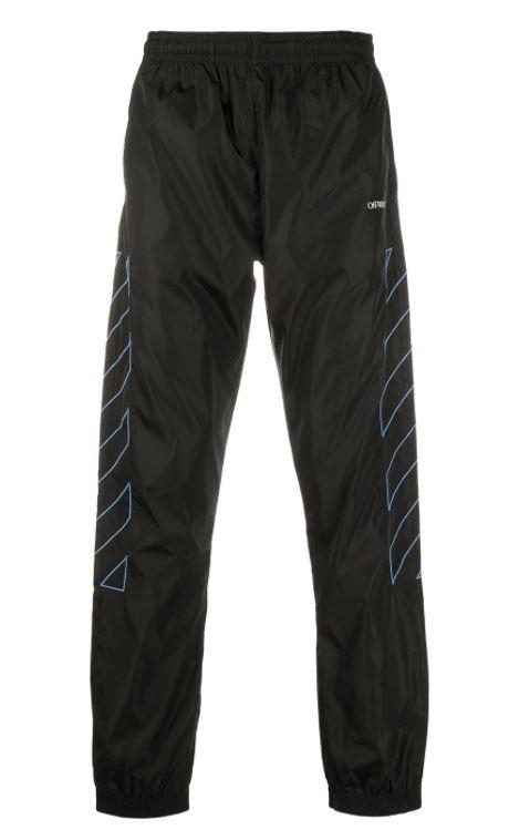 Diagonal Stripes Trousers
