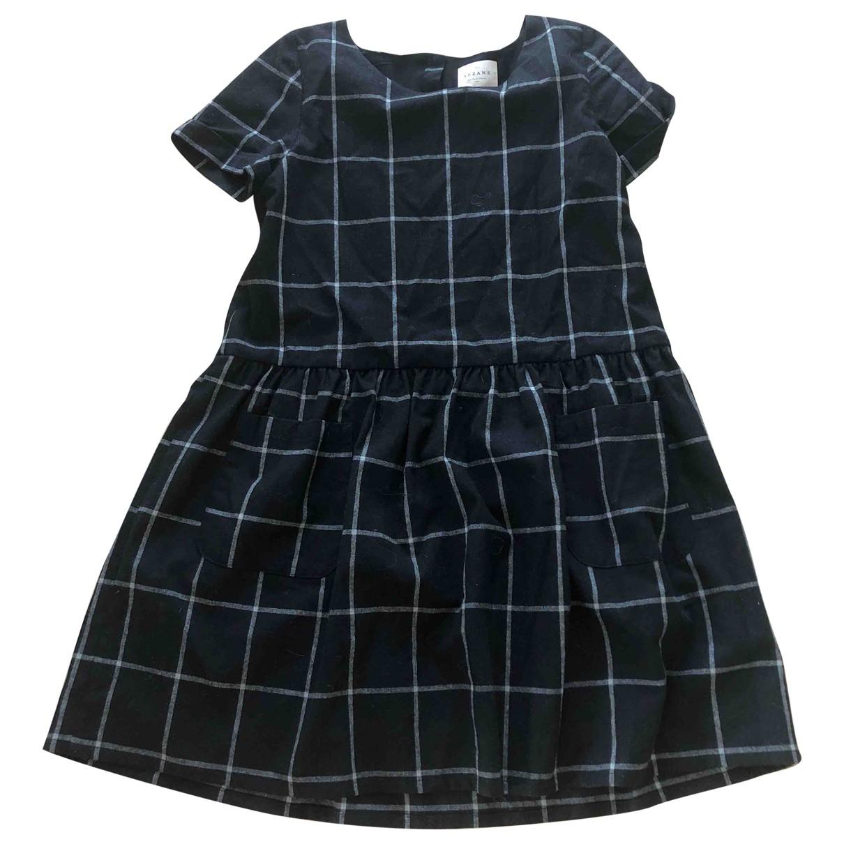 Sezane \N Kleid in  Grau Wolle