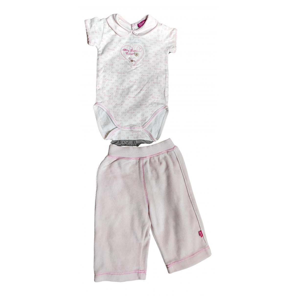 Escada - Les ensembles   pour enfant en coton - rose