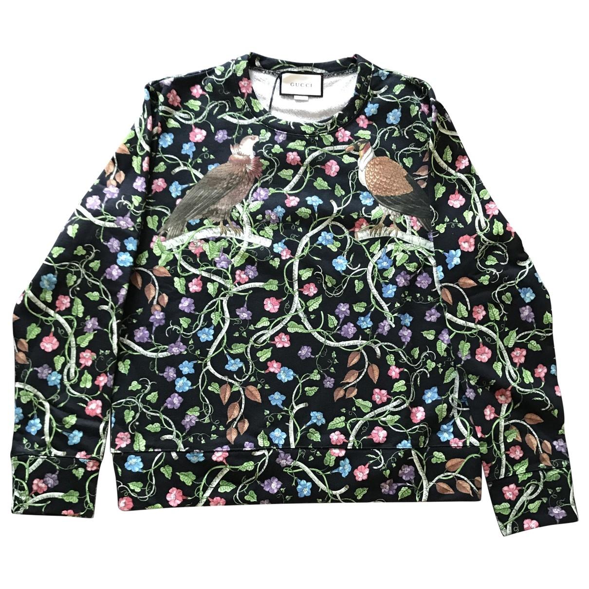 Gucci \N Black Cotton Knitwear & Sweatshirts for Men L International