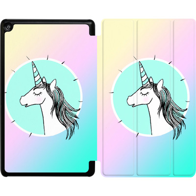 Amazon Fire HD 8 (2017) Tablet Smart Case - Happiness Unicorn von caseable Designs