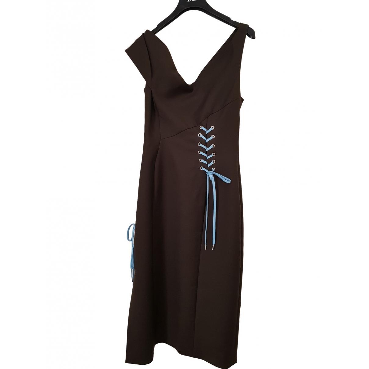 Vestido midi de Lana Dior