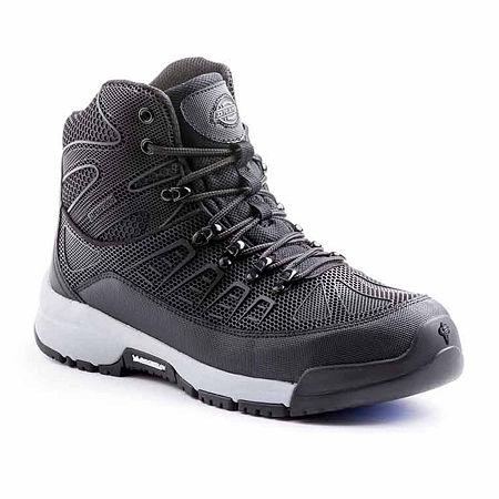Dickies Mens Banshee Slip Resistant Work Boots, 7 Medium, Gray
