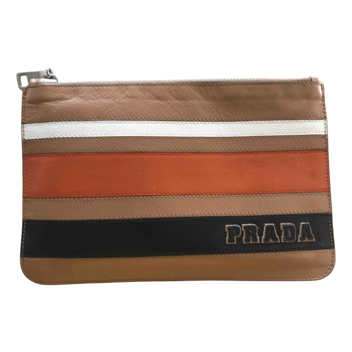 Prada N Camel Leather Purses, wallet & cases for Women N