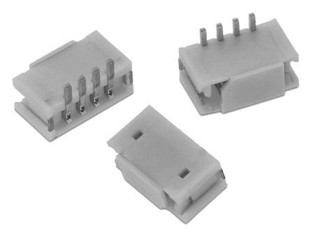 Wurth Elektronik , WR-WTB, 4 Way, 1 Row, Vertical PCB Header (5)