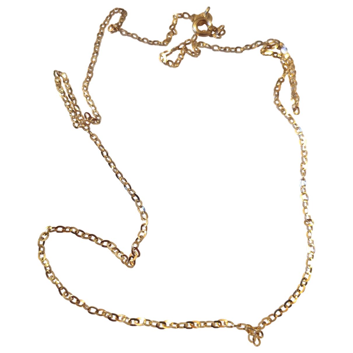 - Bijoux Chaines pour homme en or jaune - dore